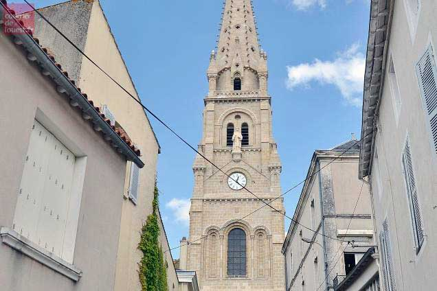 La rénovation de l'église Saint-Laurent doit s'achever avant la fin 2019.    -Photo:Courrier de l'Ouest